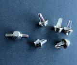 Bodemdoppen - basestuds nikkel 10 mm_