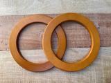 Tashengsels van hout rond_