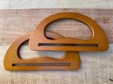 Tashengsels ovaal van hout_