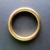 Ring messing 43 mm doorvoer 33 mm gelast
