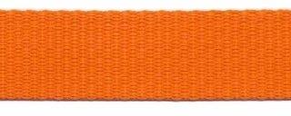 Tassenband 2,5 cm oranje zware kwaliteit