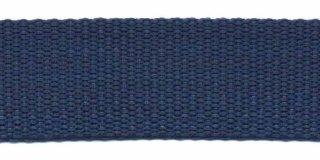Tassenband 2,5 cm donkerblauw zware kwaliteit