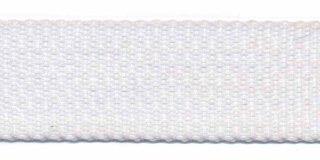 Tassenband 3 cm wit zware kwaliteit