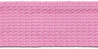 Tassenband 2,5 cm roze  zware kwaliteit