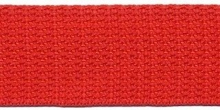 Tassenband 3 cm rood zware kwaliteit
