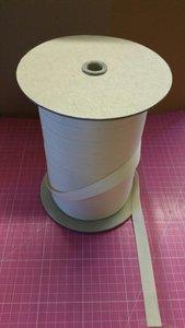 Katoenband 1,5 cm ecru