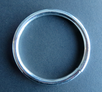 Ring 48 mm doorgang 40 mm verchroomd