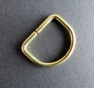 D ring messing 32 mm doorgang 25 mm