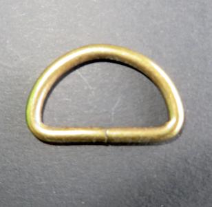 D ring brons 33 mm doorvoer 25 mm