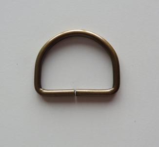 D ring brons 36 mm doorvoer 30 mm