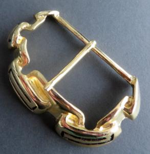 Gesp goudkleur doorvoer 65 mm