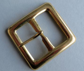 Gesp goudkleur doorvoer 37 mm