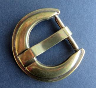 Gesp brons doorvoer 30 mm