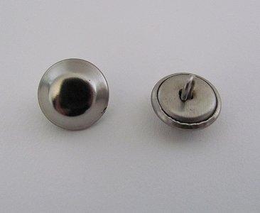 Hoogglans knoopje 1,2 cm