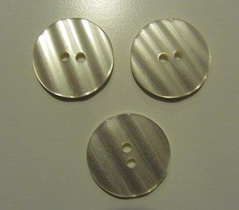 Gebroken witte knoop 3,2 cm
