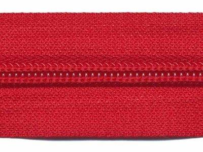 Rits van de rol 6 mm rood