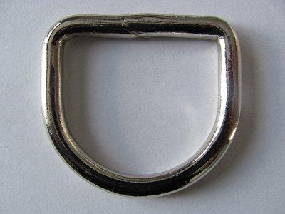 D ring gelast 53 mm doorgang 40 mm.gelast
