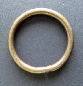 Ring brons 48 mm buitenmaat Aanbieding voor 4 cm breed band