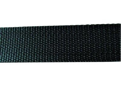 Tassenband 3 cm donkergroen zware kwaliteit