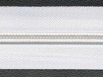 Rits van de rol 4 mm wit per meter