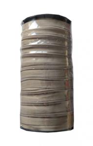 Rits van de rol 6 mm beige per rol van 50 meter