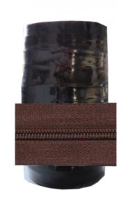 Rits van de rol 6 mm donkerbruin per rol van 50 meter