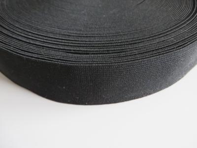 Elastiek zwart 4 cm breed