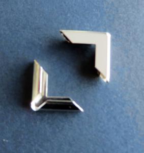 Sierhoek nikkel 17 mm