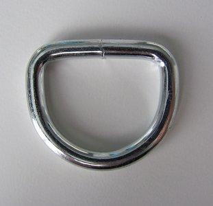 D ring gelast 35 mm doorgang 25 mm.