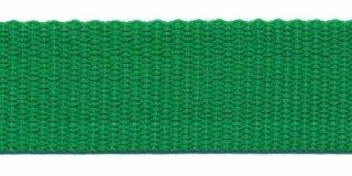 Tassenband  3 cm grasgroen zware kwaliteit