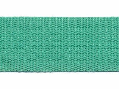 Tassenband 2,5 cm mint zware kwaliteit Nieuw