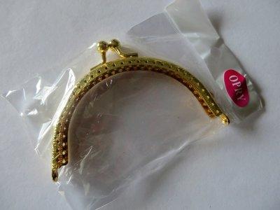 Tas- portemonneebeugel breed 10,5 cm goudkleurig