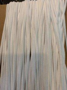 1 rol 100 meter elastiek 4 mm zacht elastiek geschikt voor mondkapjes Aanbieding